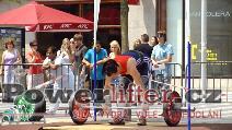 Laura Lozová, nadhoz 75kg