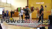 Filip Sobotka, dřep 285kg