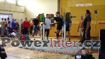Tomáš Poles, dřep 260kg