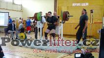 Tomáš Poles, dřep 280kg