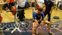 Martin Kozák, benč 182,5kg
