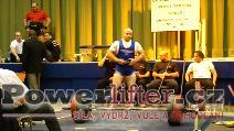 Karel Válek, mrtvý tah 275kg