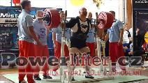 Milan Špingl, dřep 400kg