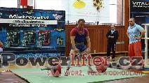 Kamil Večeřa, mrtvý tah 242,5kg