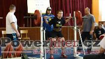 Daniel Kurečka, dřep 130kg