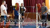 Libor Novák, dřep 205kg