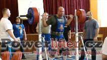Jiří Chvála, dřep 270kg