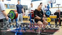 Antonín Pavlovec, 200kg