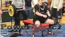 Petra Bričová, 107,5kg