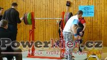 Pavel Anderle, dřep 280kg