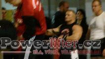 Vladimír Flimel, benč 250kg, nový rekord soutěže