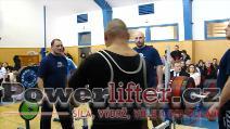 Tomáš Šeděnka, 232,5kg, 1.místo do 125kg