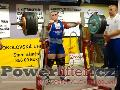 Jakub Sedláček, dřep 290kg, český juniorský rekord do 82,5kg