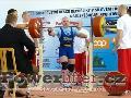 Marek Žák, dřep 307,5kg v kategorii do 90kg