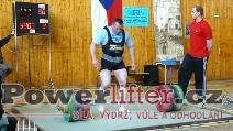 Jiří Gryga, pokus o mrtvý tah 340kg, M1 do 110kg