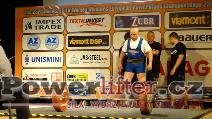 Libor Burýšek, CZE, 255kg