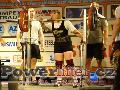 Jean Maton, GBR, vydřený dřep 160kg, ženy M1 do 82,5kg