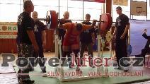 Milan Greguš, dřep 270kg