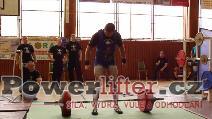 Petr Vlach, mrtvý tah 262,5kg