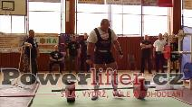 Vladimír Pop, mrtvý tah 260kg