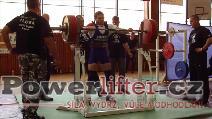 Štěpán Hoza, dřep 210kg