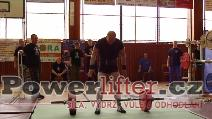 Antonín Pavlovec, mrtvý tah 230kg