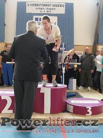 Ženy do 84kg - Romana Grómanová
