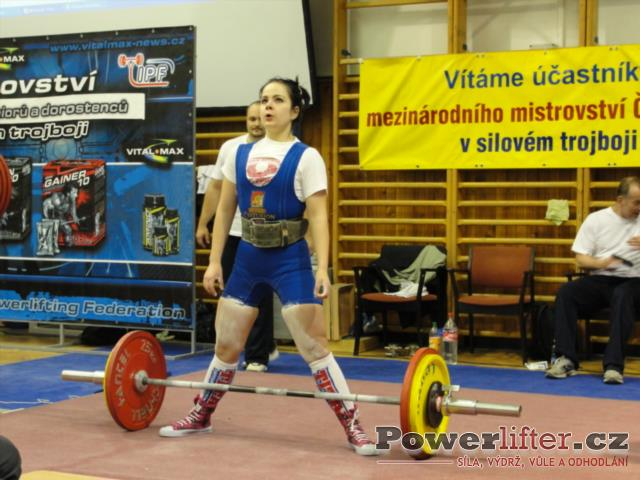 Iveta Jurčíková, 110kg, SK