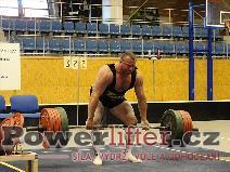 Jiří Gryga, mrtvý tah 325kg