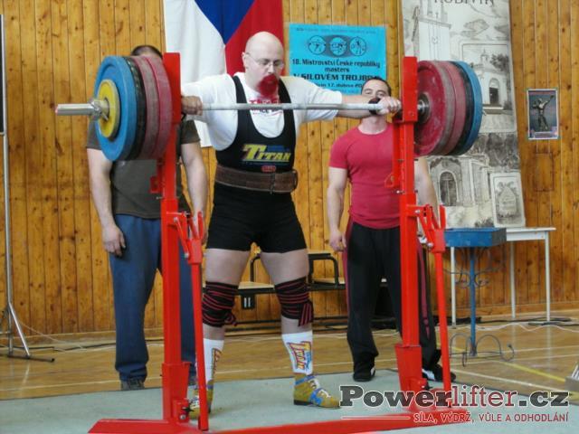 Jiří Lacina, 225kg