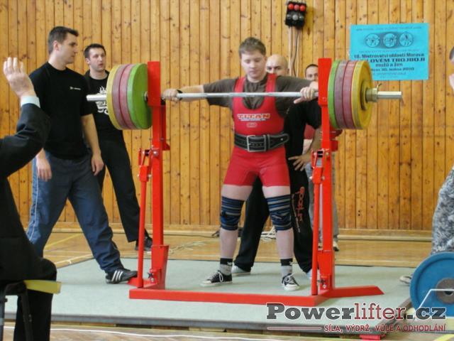 Jiří Schoř, 260kg