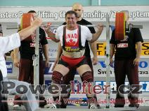 Joe Olivera, CAN, 310kg