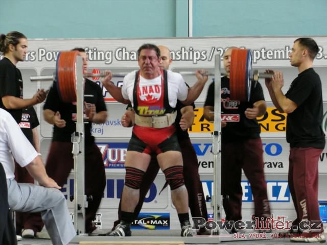 Joe Olivera, CAN, 315kg