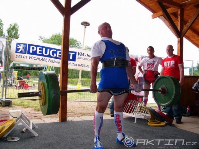 Karel Sazma, 230kg