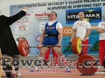 Karel Válek, 255kg