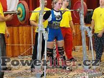 Kateřina Hýblerová, dřep 100kg