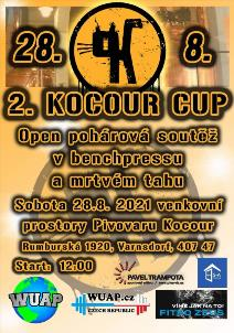 KOCOUR CUP 2021 - OPEN POHÁROVÁ SOUTĚŽ V BENCHPRESSU A MRTVÉM TAHU