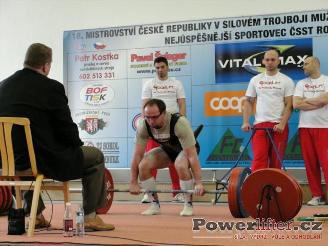 Libor Novák, 215kg