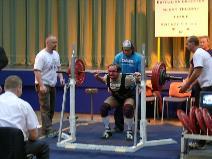Libor Novák, dřep 200kg