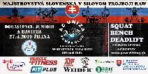 Majstrovstvá Slovenska v klasickom (RAW) silovom trojboji dorastencov, juniorov a masters