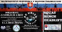 Majstrovstvá Slovenska v klasickom (RAW) silovom trojboji dorastencov, juniorov, mužov, žien a žien masters