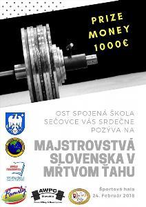 Majstrovstvá Slovenska v mŕtvom ťahu