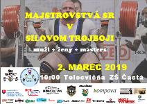 Majstrovstvá Slovenska v silovom trojboji mužov, žien a masters