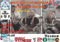 Majstrovstvá Slovenska v silovom trojboji žien, mu��ov, žien masters a mužov masters