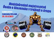 Medzinárodné majstrovstvá Česka a Slovenska v silovom trojboji a drepe