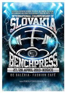 Mezinárodné Majstrovstvá Slovenska v tlaku na lavičke