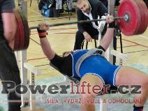 Michal Krček, benč 182,5kg