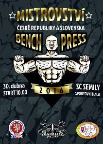 Mistrovství ČR a SR v benchpressu