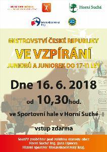 Mistrovství ČR ve vzpírání juniorů a juniorek do 17 let