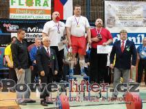Muži M1 nad 120kg - Lacina, Urban, Vítek